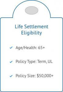 """eligibility criteria for a life settlement"""