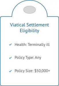 """Eligibility criteria for a viatical settlement"""